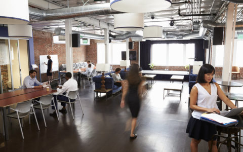Big Companies Turning to Coworking